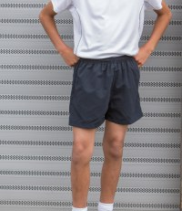 Start Line Kids Mesh Lined Track Shorts
